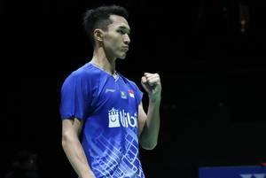 Ekspresi Jonatan Christie (Indonesia).