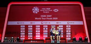 Juara ganda putri BWF World Tour Finals 2020 Bangkok, Lee So Hee/Shin Seung Chan (Korea). (Copyright: Badmintonphoto | Courtesy of BWF)