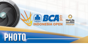 BCA Indonesia Open Superseries Premier 2017 - Photo Gallery