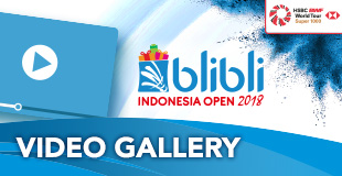 Indonesia Open - Video Gallery