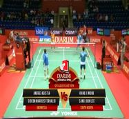 Andrei A./ Gideon M. (INDONESIA) VS Kang J./ Sang Joon L. (SOUTH KOREA)