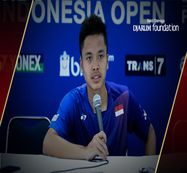 Interview Anthony Sinisuka Ginting (Indonesia) After Defeated by Jan O Jorgensen (Denmark)