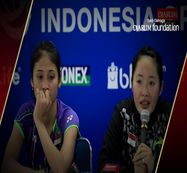 Interview Tiara Rosalia/Rizki Amelia (Indonesia) After Match VS Eefje Muskens/Selena Piek (Netherland)