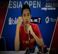Interview Jonatan Christie (INA) After Match VS Hsu Jen Hao (TPE)