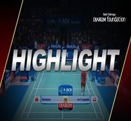 Jan O Jorgensen (Denmark) VS Tian Houwei (China)