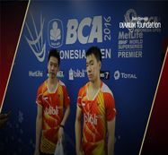 Interview Kevin Sanjaya/Marcus Fernaldi (Indonesia) After Match Marcus Ellis/Chris Langridge (England)