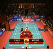 Lee Chong Wei (MALAYSIA) VS Marc Zwiebler (GERMAN) Djarum Indonesia Open 2013