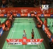 Lee Chong Wei (MUSICA FLYPOWER CHAMPION) VS Takuma Ueda (UNISYS JAPAN)