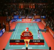 Li Xuerui (CHINA) VS Juliane Schenk (GERMAN) Djarum Indonesia Open 2013