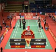 Marcus Ellis/Paul Vanri (ENGLAND) VS Christopher Rusdianto/Trikusuma Wardhana (INDONESIA)