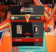Saina Nehwal (India) VS Li Xuerui (China) Final Womens Single DJARUM Indonesia Open Super Series Premier 2012