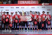 PB Djarum sebagai Runner Up Djarum Superliga Badminton 2017