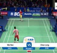 Chen Long (CHN) VS Wei Nan (HKG)