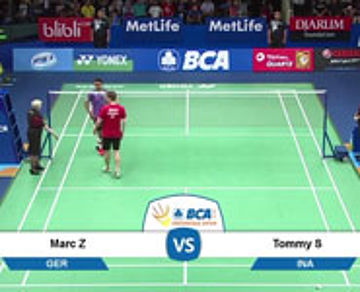 Marc Zwiebler (GER) VS Tommy Sugiarto (INA)
