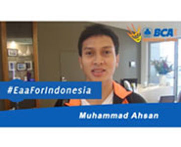 Muhammad Ahsan For BCA Indonesia Open 2015