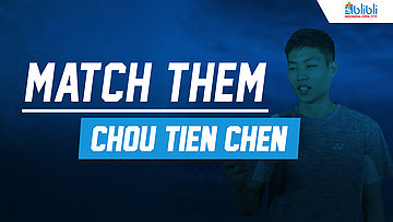 Match Them Athlete with Chou Tien Chen at Blibli Indonesia Open 2018