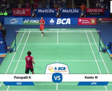 Kento Momota (JAPAN) VS Parupalli Kashyap (INDIA)