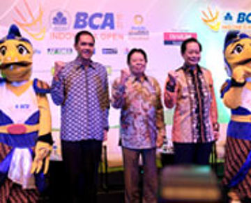 Press Conference BCA Indonesia Open 2015 at Hotel Indonesia Kempinski - Jakarta