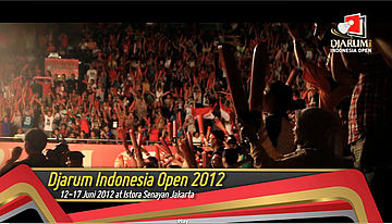 Pemenang Djarum Indonesia Open Super Series Premier 2012