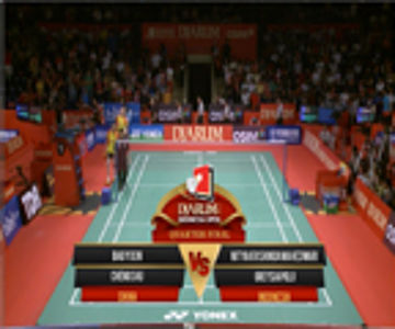 Bao Yixin/Cheng Shu (CHINA) VS Nitya Krishinda M/Greysia Polii (INDONESIA) Djarum Indonesia Open 2013