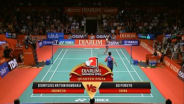 Ko Sung H/ Lee Yong Dae (SOUTH KOREA) VS Takeshi K/ Keigo S. (JAPAN) Djarum Indonesia Open 2013