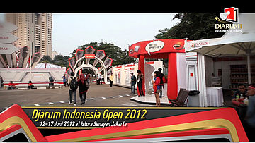 Highlight Final Djarum Indonesia Open Super Series Premier 2012