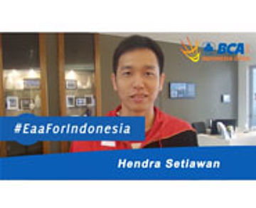 Hendra Setiawan For BCA Indonesia Open 2015
