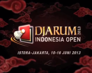 TVC Djarum Indonesia Open Super Series Premier 2013