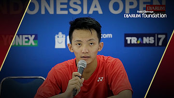 Interview Ihsan Maulana Mustofa (INA) After Match VS Rajiv Ouseph (ENG)