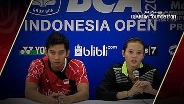 Interview Alfian Eko/Annisa Saufika (Indonesia) After Match VS Jacco Arends/Selena Piek (Netherland)