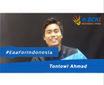 Tontowi Ahmad For BCA Indonesia Open 2015