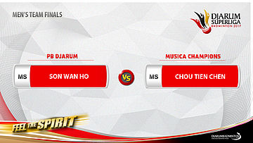 Men's Team - Finals MS1 - Tien Chen Chou (MUSICA CHAMPIONS) vs Wan Ho Son (PB DJARUM)