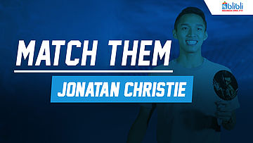 Match Them Athlete with Jonatan Christie at Blibli Indonesia Open 2018