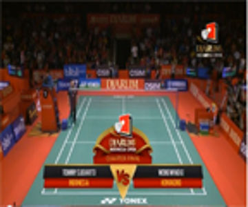 Tommy Sugiarto (INDONESIA) VS Wong Wing Ki (HONGKONG) Djarum Indonesia Open 2013