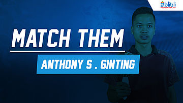 Match Them Athlete with Anthony Sinisuka Ginting at Blibli Indonesia Open 2018