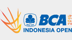 BCA Indonesia Open Super Series Premiere 2014